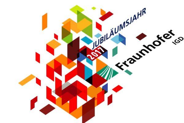 Grafische Darstellung zum Jubiläumsjahr des Fraunhofer Instituts