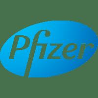 Logo von dem Unternehmen Pfizer